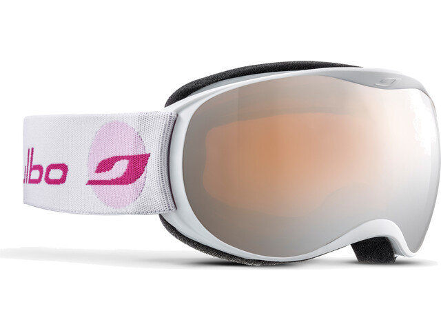 Julbo Atmo Junior Lapset, white-pink/orange/silver flash